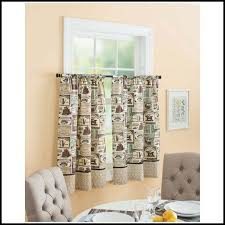 Better Homes And Garden Curtains Better Homes And Gardens Kitchen Curtains Cafe Au Lait