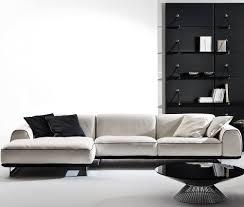 Gamma Leather Sofa by Modular Sofa Contemporary Leather 3 Seater Brandy Gamma