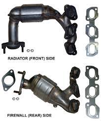nissan titan catalytic converter amazon com ford escape 3 0 v6 2001 2006 catalytic converter