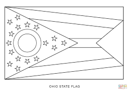 State Of Ohio Map by Ohio Map Coloring Page And Coloring Pages Eson Me