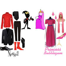 Princess Bubblegum Halloween Costume Nergal Princess Bubblegum Cartoon Network 2016 Polyvore