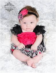 clearance pink zebra petti lace dress ruffle dress baby