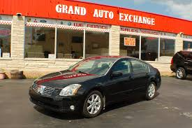 2005 nissan maxima se black sedan sale