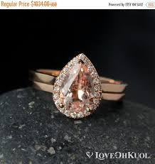 black friday pink sale black friday sale halo diamond pink morganite teardrop ring