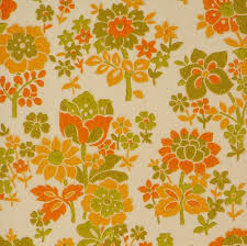 early u002760s floral wallpaper vintage wallpapers