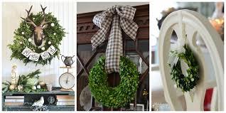 11 Boxwood Wreath Decorating Ideas For The Holidays