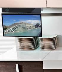 kitchen televisions under cabinet flipdown kitchen tv rapflava