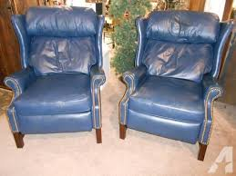 leather wingback recliners cool wingback recliner with leather