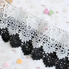 wide lace ribbon 2 yards 8cm wide lace ribbon hollow out appliqued lace trim