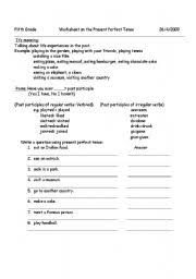 12 best images of worksheets perfect verb tenses action verb