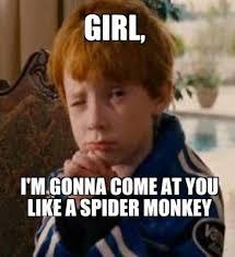 Monkey Meme Generator - meme creator girl i m gonna come at you like a spider monkey