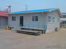 buy low cost and easy installed prefabricated sandwich panel house