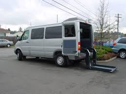 dodge used vans wheelchair lift in dodge sprinter for handicapped access