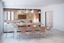 applying a modern and minimalist dining room design ideas complete