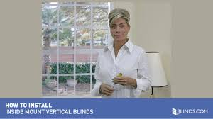 how to install vertical blinds video inside mount u0026raquo