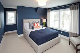 Blue Curtains Bedroom Rooms With Navy Blue Curtains Bedroom Transitional With Boys Room
