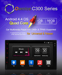 nissan versa usb android ownice c300 quad core pure android 4 4 car dvd player for