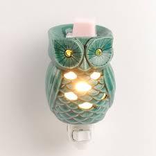 Owl Patio Lights by Turquoise Owl Tart Burner Night Light Owl Turquoise And Lights