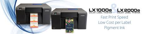 primera label lx2000e and lx1000e colour label printer