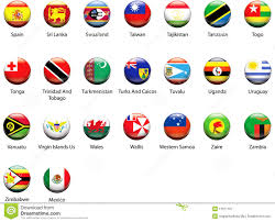 World Flag World Flag Icons 07 Stock Vector Illustration Of Icon 12971107
