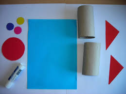 toilet paper roll rocket craft little busy hands