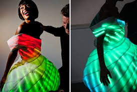 nemo led dress inventdesign