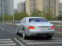 bentley continental flying spur rear bentley flying spur 2014 picture 76 of 140