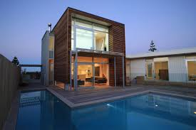 List Of Diffent Style Of Homes by Small Retro Wooden House Using Full Glass Entry Door With Top