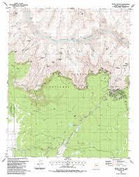 Map Grand Canyon Grand Canyon Topographic Map Az Usgs Topo Quad 36112a2