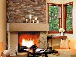 cultured stone fireplace surround home fireplaces firepits