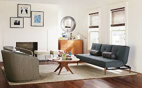 futon living room the best grown up futons apartment therapy