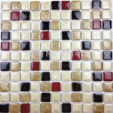 Red And Black Kitchen Tiles - aliexpress com buy discount white deep red black ceramic