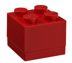Lego Storage Containers Amazon - amazon com lego mini box 4 red kitchen u0026 dining