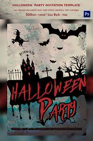 12 free halloween party invitation templates design trends