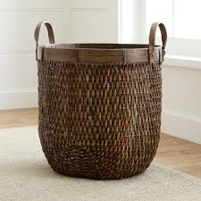 Large Wicker Vases Https Images Crateandbarrel Com Is Image Crate H