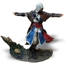 Assassins Creed Black Flag Statue Puzzle Assassin U0027s Creed Pirate Edward Kenway Statue Merchandise Zavvi
