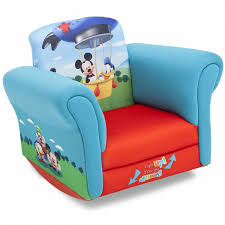 Baby Rocking Chair Disney Baby Upholstered Child U0027s Mickey Mouse Rocking Chair Shop