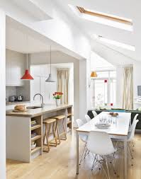 white handleless kitchen extension ideas kitchen sourcebook