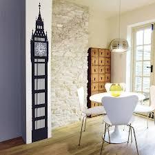 big ben wall sticker clock by funky little darlings big ben wall sticker clock