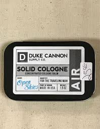 gifts solid cologne air the last straw