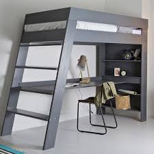 teenage bunk beds with desk stylish work in comfort from your bed with a bed desk teen loft beds