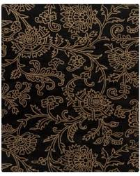 Floral Area Rug Sweet Deal On Chandra Rugs Hanu Swirls Floral Black Gold Floral