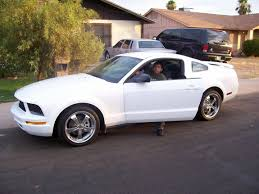 white mustang 2006 ponywhite 2006 ford mustang specs photos modification info at