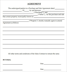 simple purchase agreement template template idea