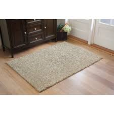 Shaggy Rugs For Living Room Living Room White Shag Rug With Brown Wooden Floor And Brown Rug