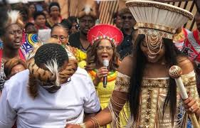 traditional wedding look inside khaya mthethwa and ntando kunene s traditional wedding