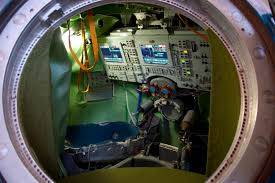 space in images 2010 11 interior of a soyuz tma simulator