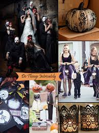 Halloween Wedding Costume Ideas Classy Halloween Inspired Wedding Ideas Bridesmaid Dresses