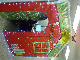 interior design fresh cubicle decoration christmas theme room