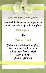wedding invites wording wedding invitation wording not in church yaseen for